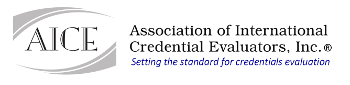 Association of Internation Credential Evaluators. Inc.